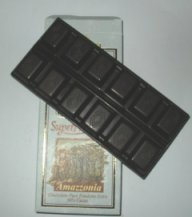 Amazzonia 90 percent cocoa chocolate bar