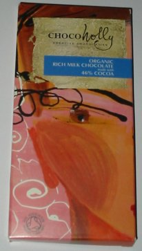 ChocoHolly Organic Rich Milk Chocolate Bar