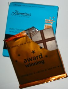Thorntons Milk Chocolate 38% Bar