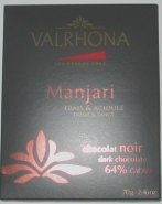 Valrhona Manjari 64 percent dark chocolate bar