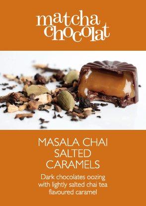 Masala Chai Caramel from Matcha Chocolat