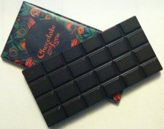 chocolate and love rich dark chocolate bar