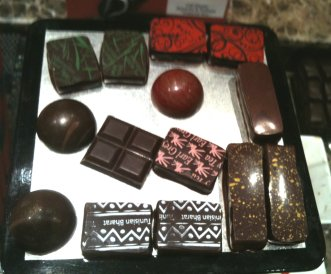 demarquette chocolate selection