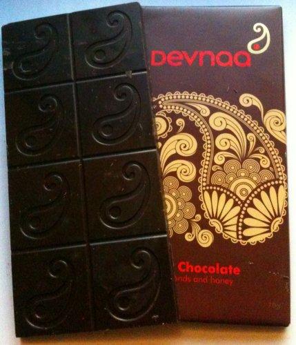 devnaa honey almond chocolate bar