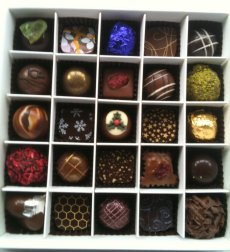 chococo advent calendar chocolates