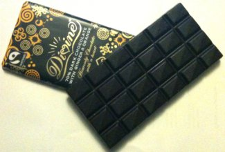 divine ginger orange chocolate bar