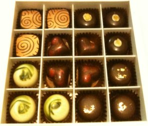 matcha tea chocolate winter selection