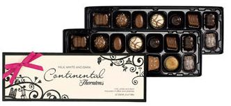 thorntons continental chocolate box