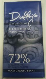 duffys indio rojo chocolate bar 72