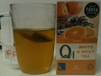 qi orange spice tea