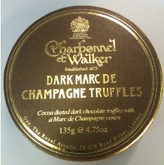 charbonnel et walker dark choc champagne truffles full box