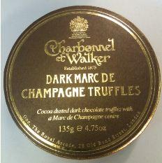 charbonnel et walker dark choc champagne truffles full box