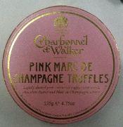 charbonnel et walker pink champagne truffles box