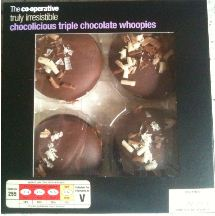chocolicious triple chocolate whoopies