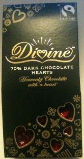divine dark chocolate hearts box