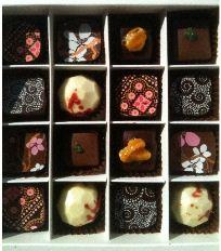 matcha chocolat selection box