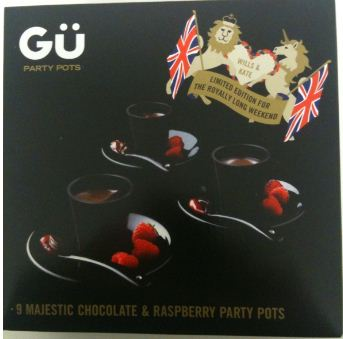 Gu chocolate pudding box