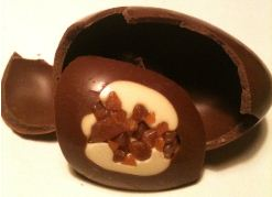 james vanilla chocolate egg