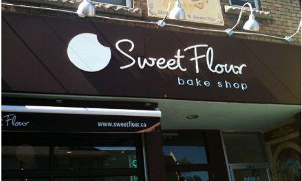 sweet flour shop outside