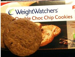 weight watchers double choc chip cookies