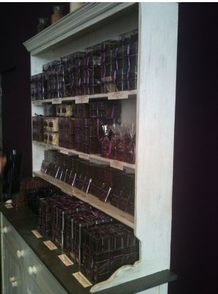 chocolate bars at wardour st shop of paul a young