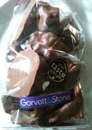 gorvett stone cinder toffee bag