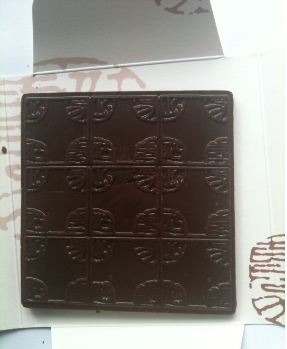 laurent gerbaud cocoa nibs chocolate bar