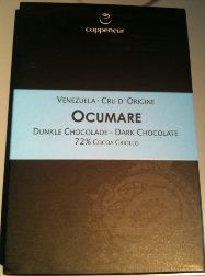 ocumare chocolate bar wrapper