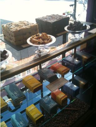 paul a young wardour st brownie display