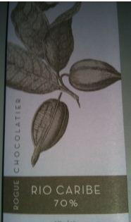 rogue rio caribe chocolate wraper