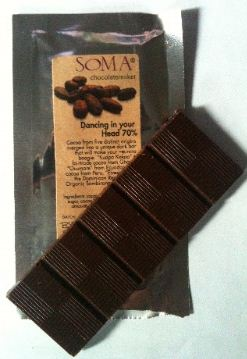 soma dancing in your head chocolate bar