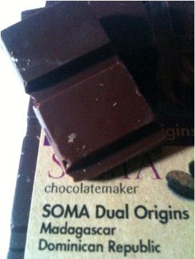 soma dual origins pieces of chocolate