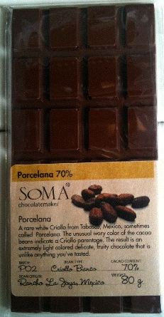 soma porcelana chocolate bar