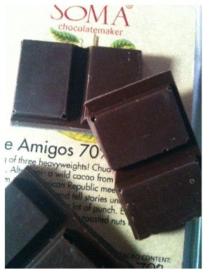 three amigos chocolate Soma