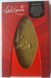 lick the spoon matcha chocolate bar