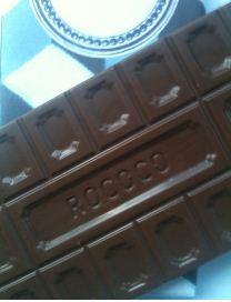 rococo sea salt chocolate bar