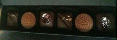 thorntons box chocolates inside