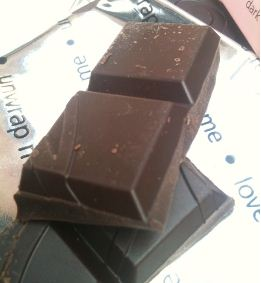 thorntons rose chocolate bar chunks