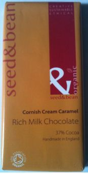 Seed Bean Cornish Cream Caramel Milk Chocolate