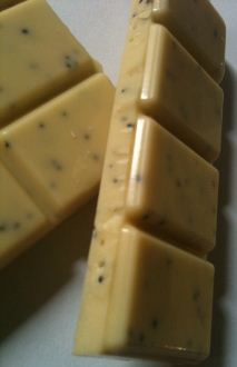 Seed Bean Lemon Poppy Seeds White Chocolate