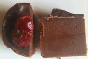 fudge fancies chocolate cranberry