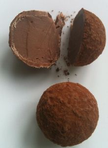 melchior champagne truffles cut open