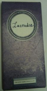 rococo lavender chocolate bar