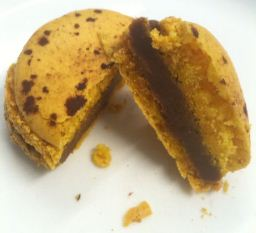 pierre herme passion fruit chocolate macarons