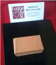 fudge box baileys chocolate