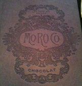moroco chocolat menu