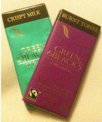 green blacks toffee crispies