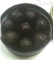 kings ginger truffles box