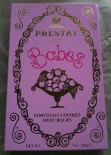 Prestat Babies – Fruit Jellies covered in Chocolate