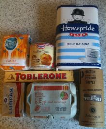 toblerone cupcakes ingredients